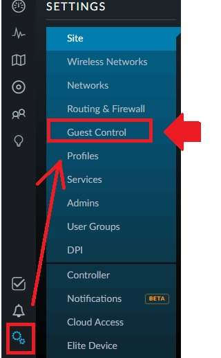 UBNT UniFi Controller Captive Portal Setup with Facebook Login