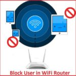 block user in tp link wifi router