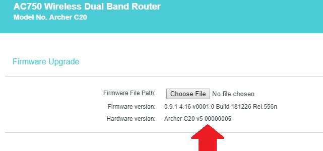 tp link cant upgrade firmware tl-wr841n v13