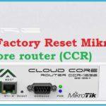 reset mikrotik hap lite - TechTricksZone com