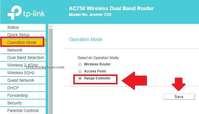 tp-link ac1750 wifi range extender