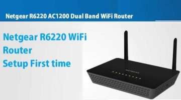 Netgear AC1200 Dual Band WiFi Router