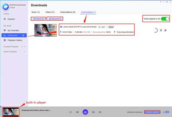 Downloader and converter YouTube to mp3