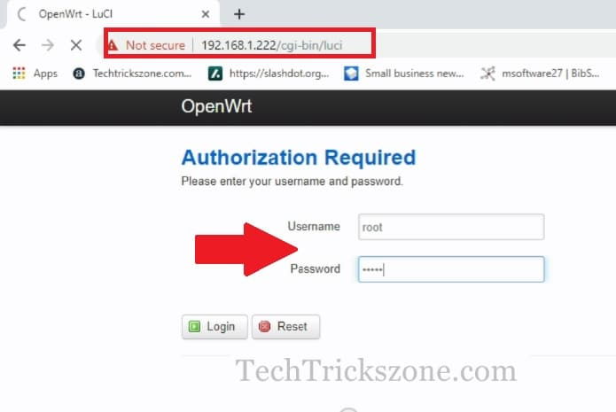 How to Connect Airgrid M2HP with OpenWRT Router