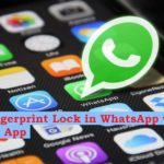 How to lock WhatsApp with your fingerprint