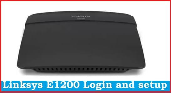 linksys router default login