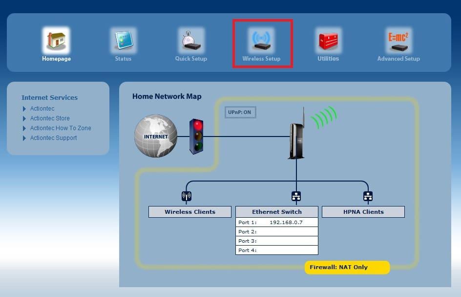 actiontec v1000h firmware