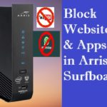 block Facebook in Arris Modem