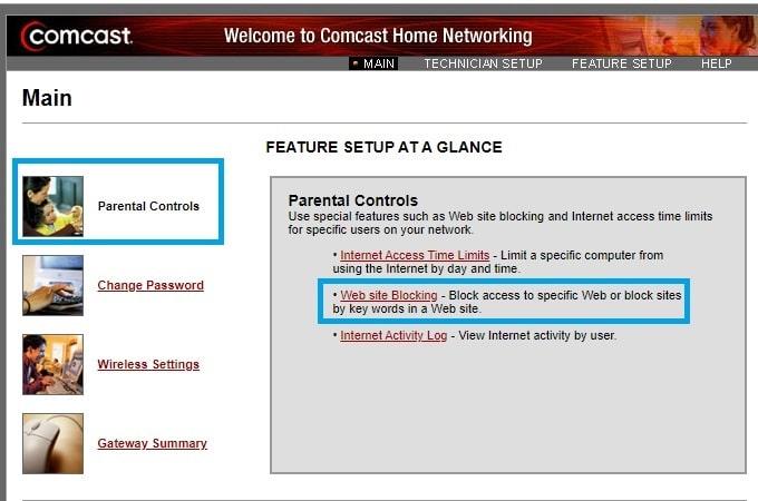 block tiktok in comcast router