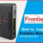 Frontier Router Login | IP | Username & Password