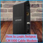 Login NETGEAR CM1000 DOCSIS 3.1 Gigabit Cable Modem