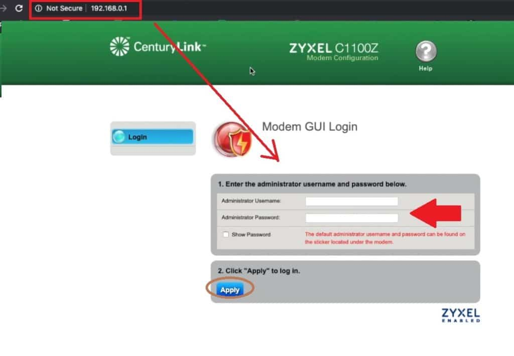 centurylink business login