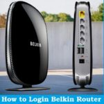 steps to belkin login router