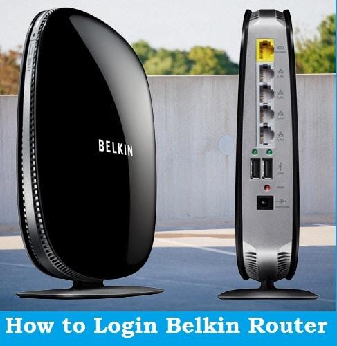 steps to belkin login router