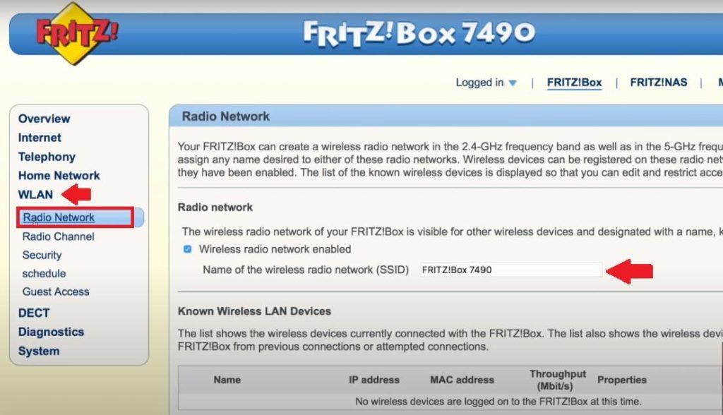 192.168.178.1 - Router Admin Login