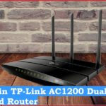 tp link ac1200 login and setup