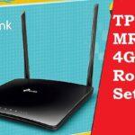 TP-link TL-MR6400 4G LTE router setup
