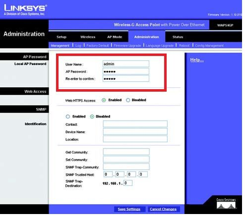 Download Manual for the Linksys WAP54GP